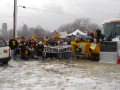 Paulson Tours Tailgate Party at Super Bowl XL with over 350 people!